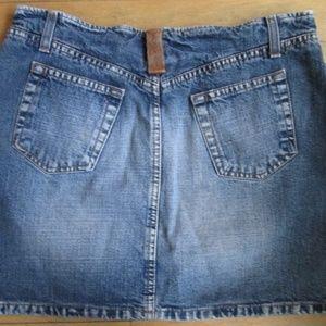 174e909515 Kookai Jeans Skirts - Kookai Jeans Italian Distressed Denim Skirt ~ 27